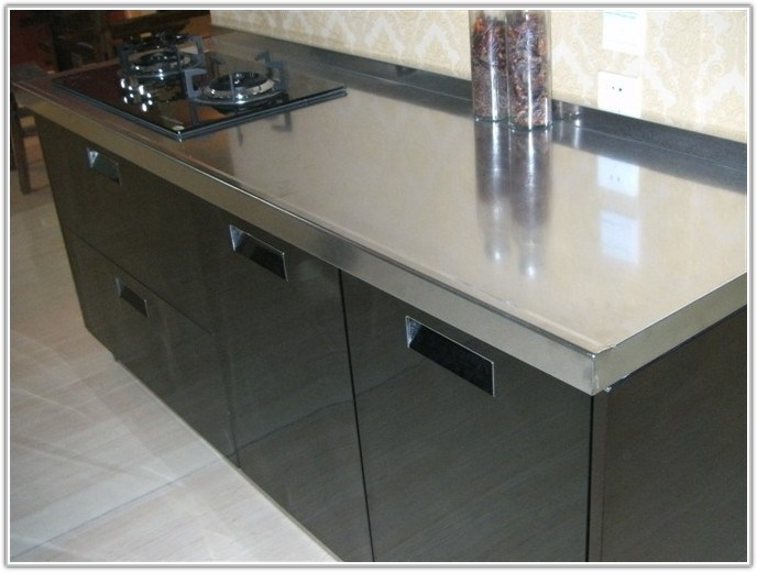 Custom Made Stainless Steel Cabinets