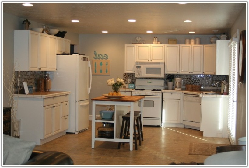 Diy Refinish Kitchen Cabinets White