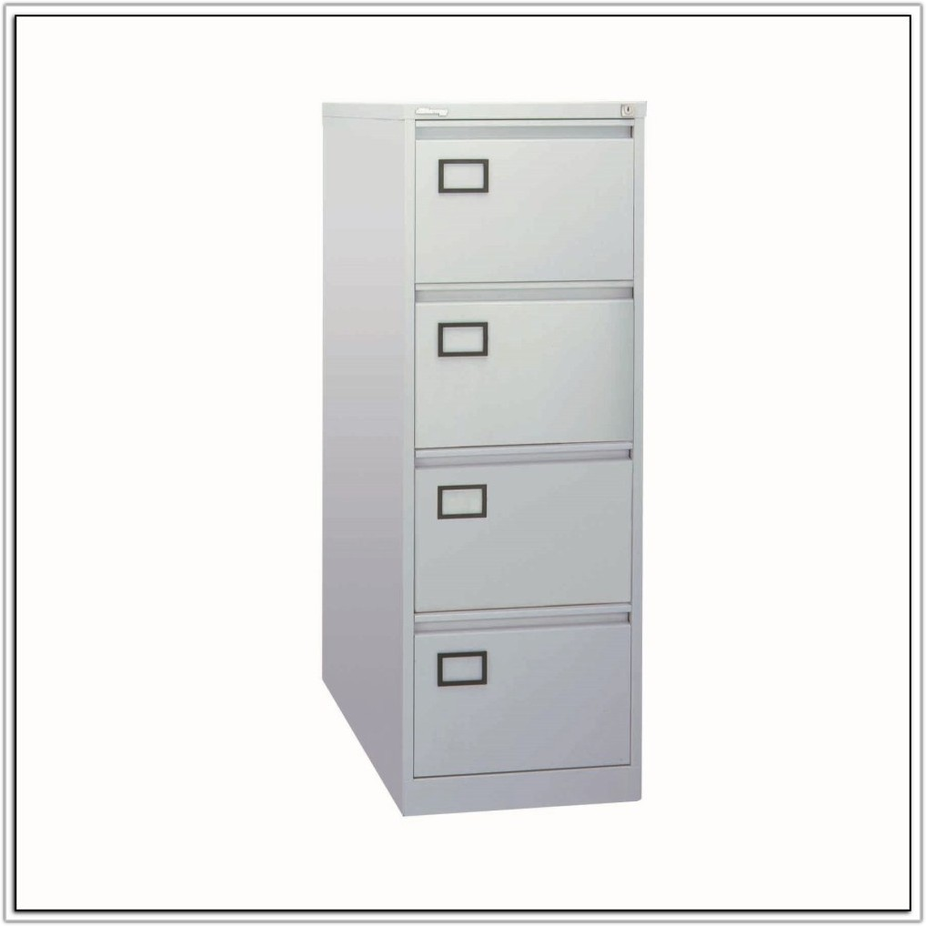 Filing Cabinet 4 Drawer Lockable