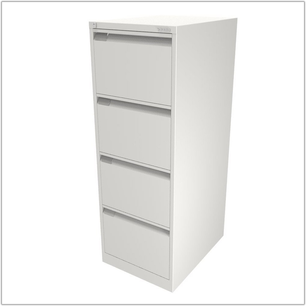Filing Cabinets 4 Drawer White