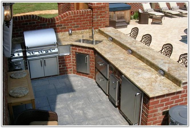 Free Outdoor Kitchen Cabinet Plans