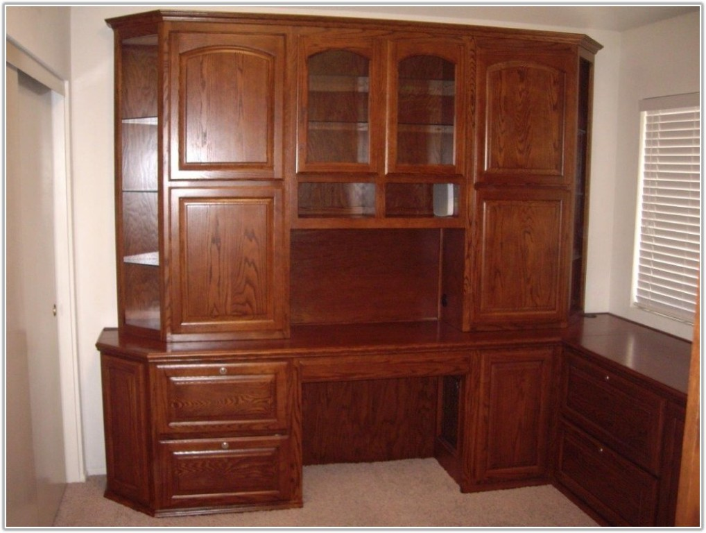 Home Office Cabinets With Doors
