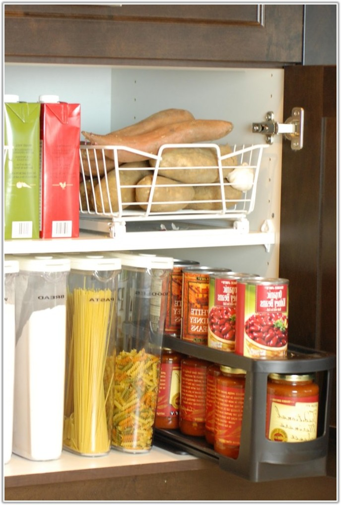 Kitchen Cabinet Organizing Ideas Pinterest