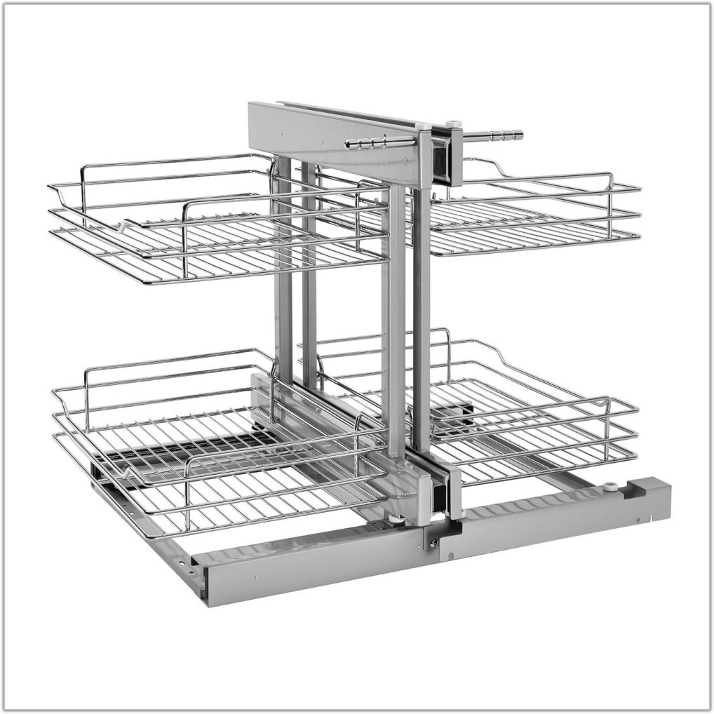 Kitchen Cabinet Pull Out Shelves Chrome