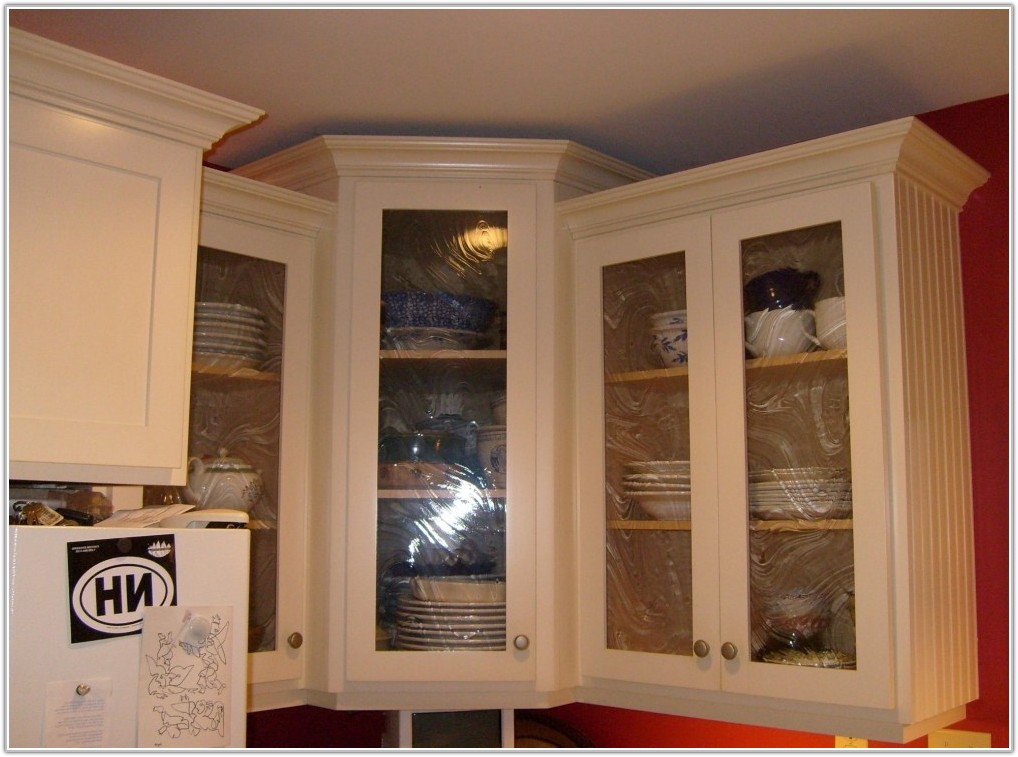 Kitchen Cabinets Glass Inserts Home Depot