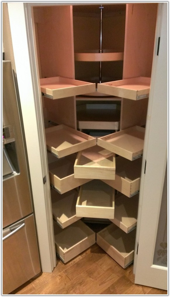 Kitchen Pantry Cabinet With Pull Out Drawers