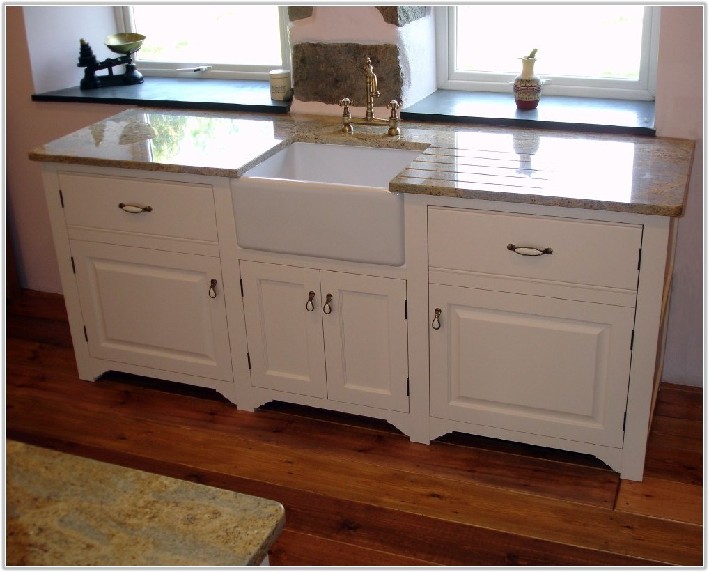 Kitchen Sink With Base Cabinet