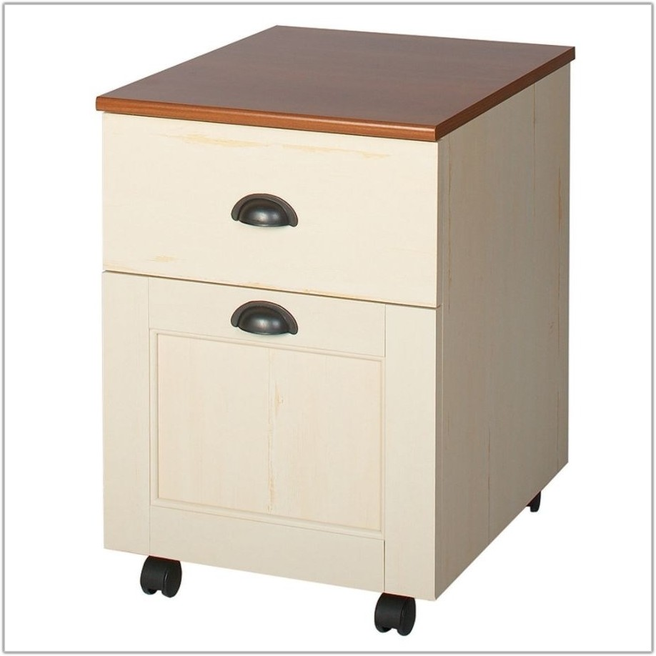 Lateral File Cabinet Antique White