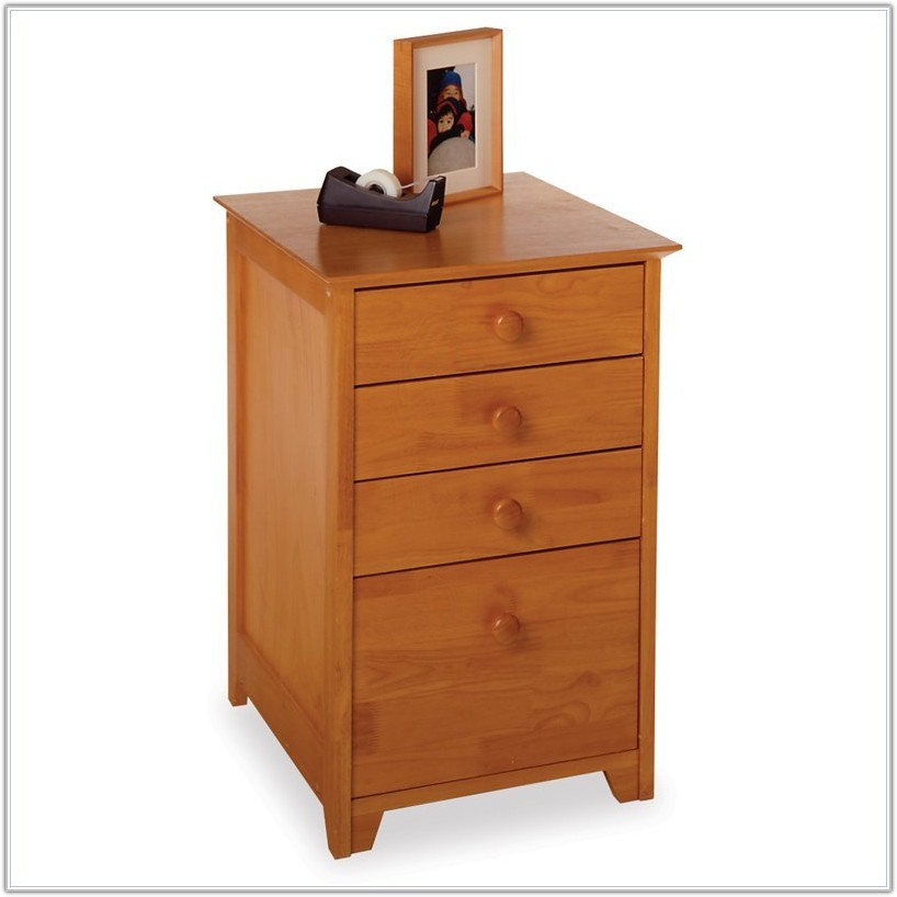 Lateral Wood File Cabinet 4 Drawer