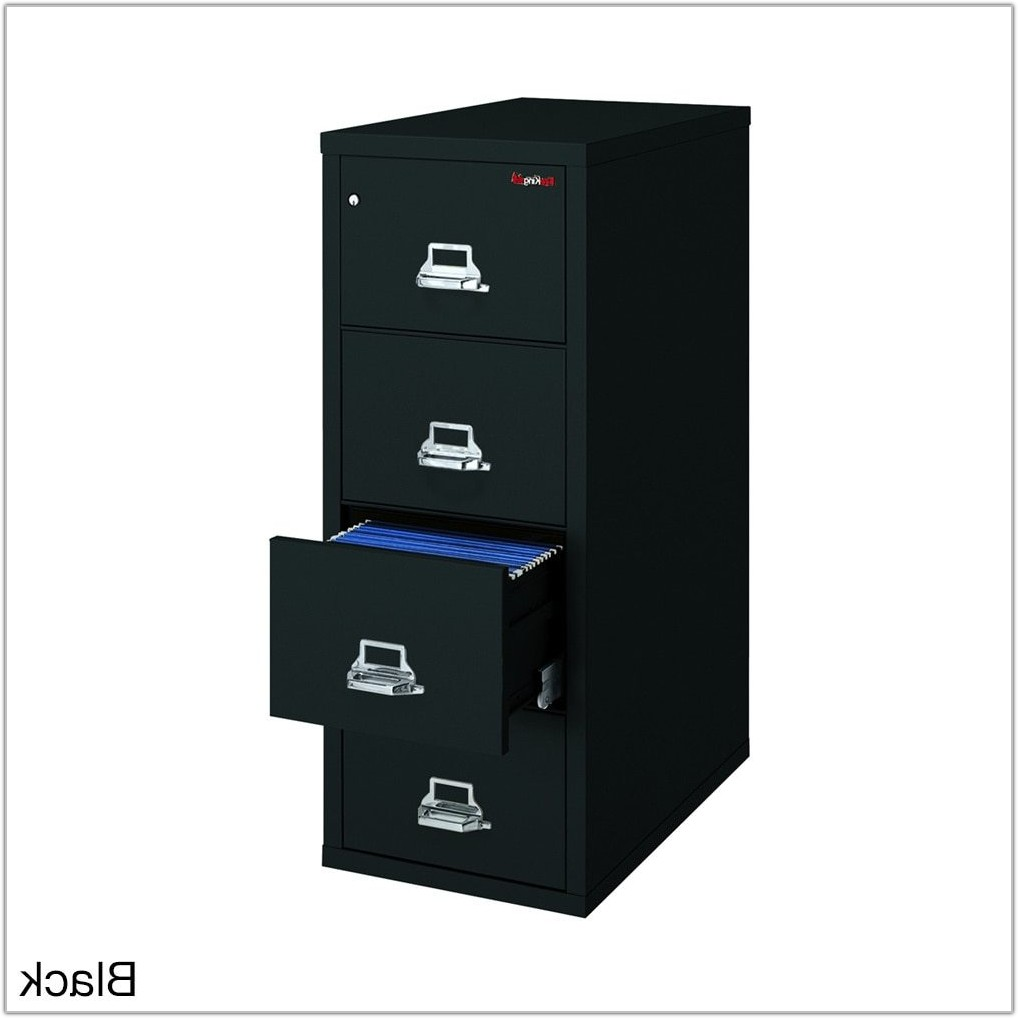 Letter Size Fireproof File Cabinet