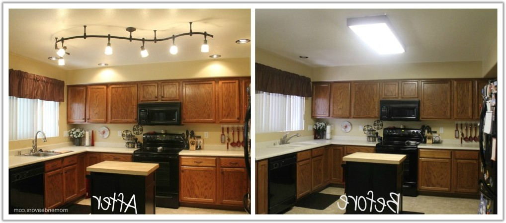 Lighting Ideas For Above Kitchen Cabinets