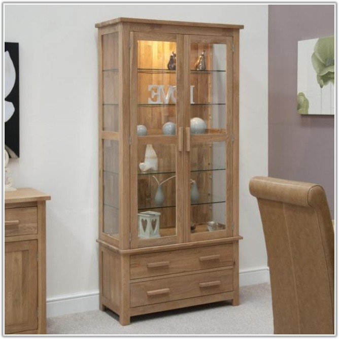 Living Room Corner Display Cabinet