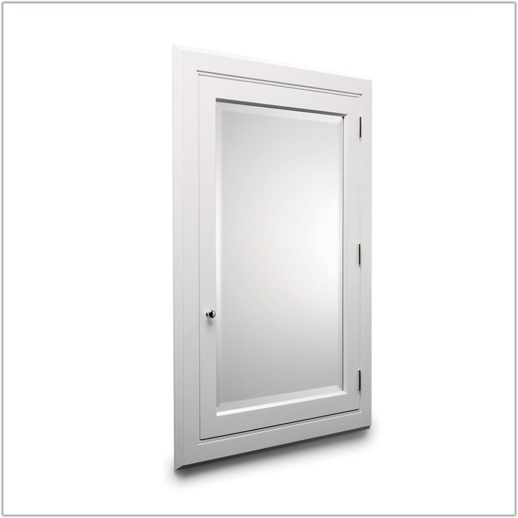 Medicine Cabinet Without Mirror Door