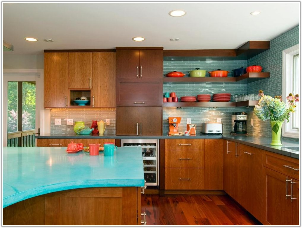 Mid Century Kitchen Cabinet Colors