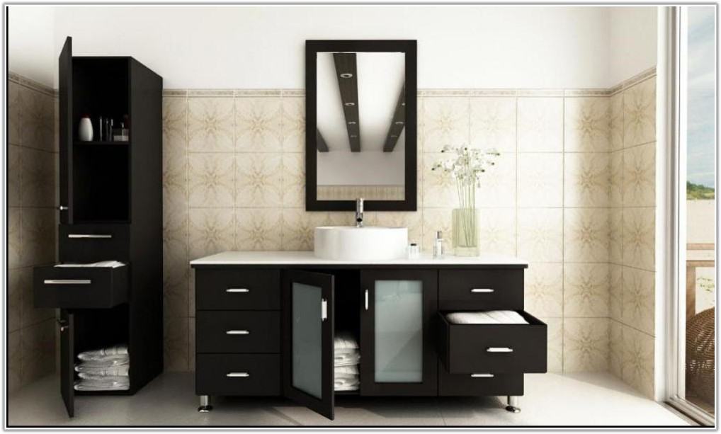 Modern Bathroom Single Sink Vanities