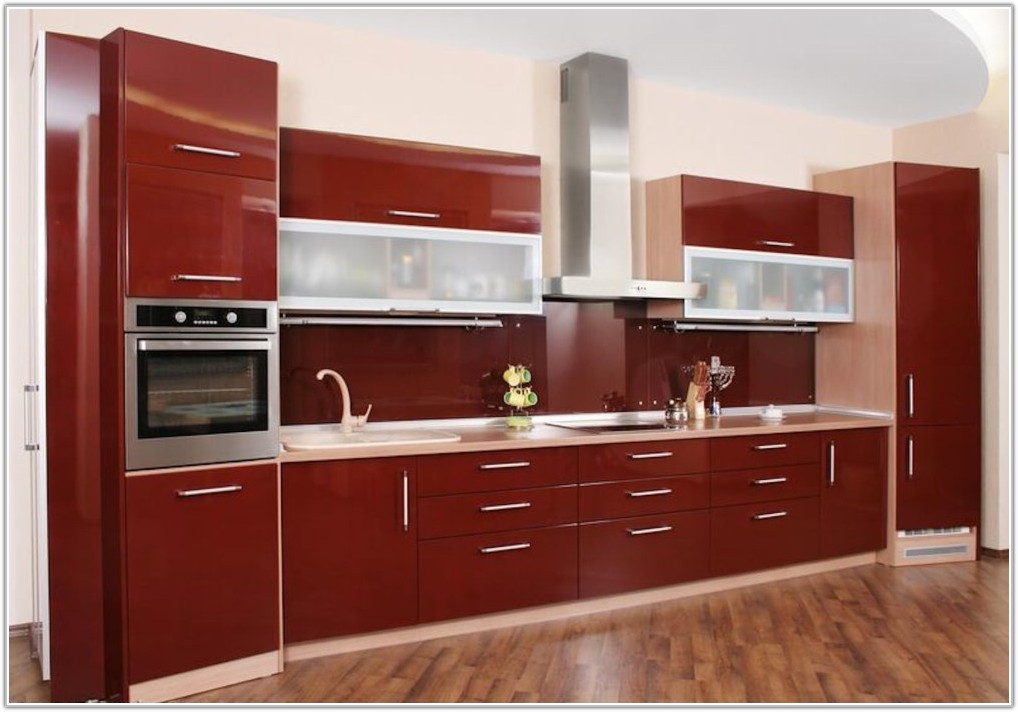 Modern Kitchen Cabinets Frosted Glass
