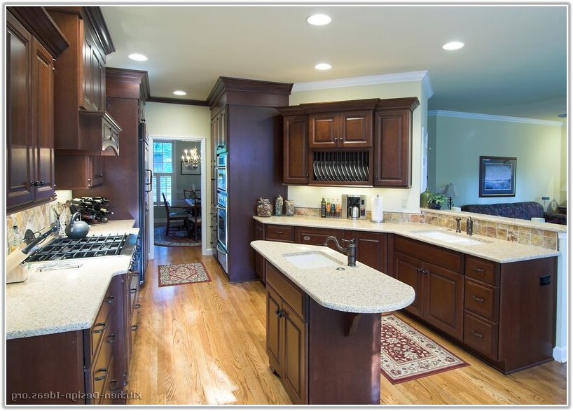 Oil Rubbed Bronze Hardware On Cherry Cabinets
