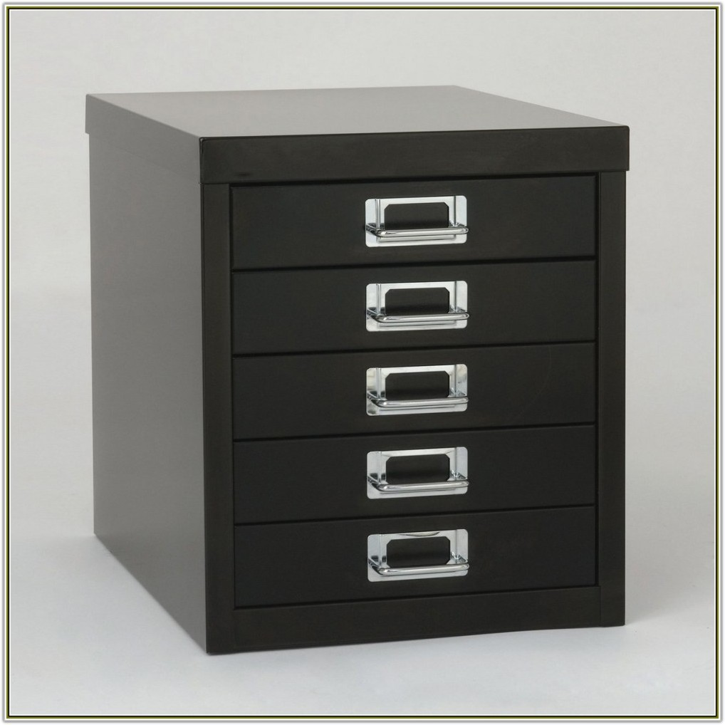 One Drawer File Cabinet With Lock