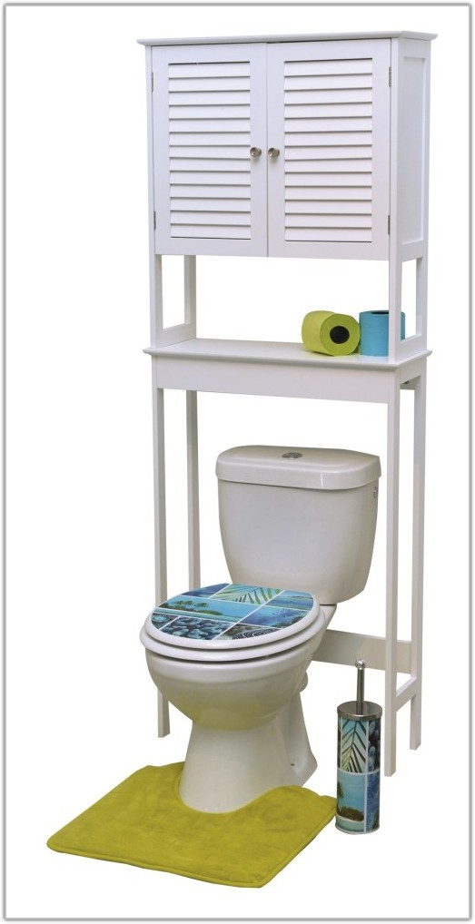Over The Toilet Space Saver Cabinet White