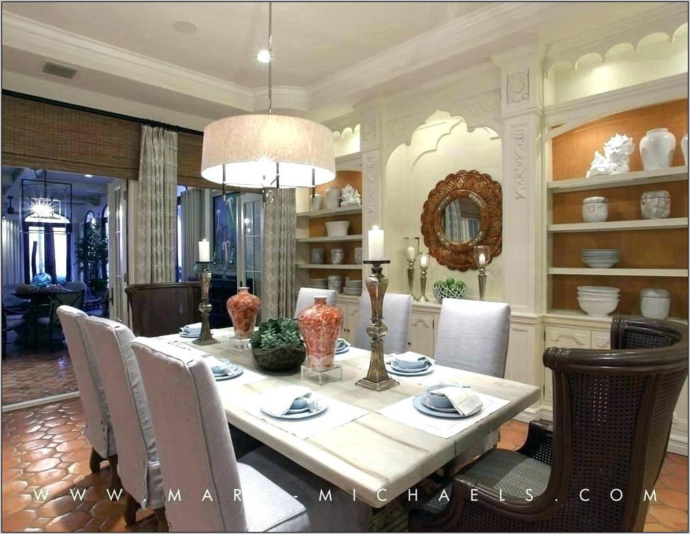 Drum Lighting for Dining Room