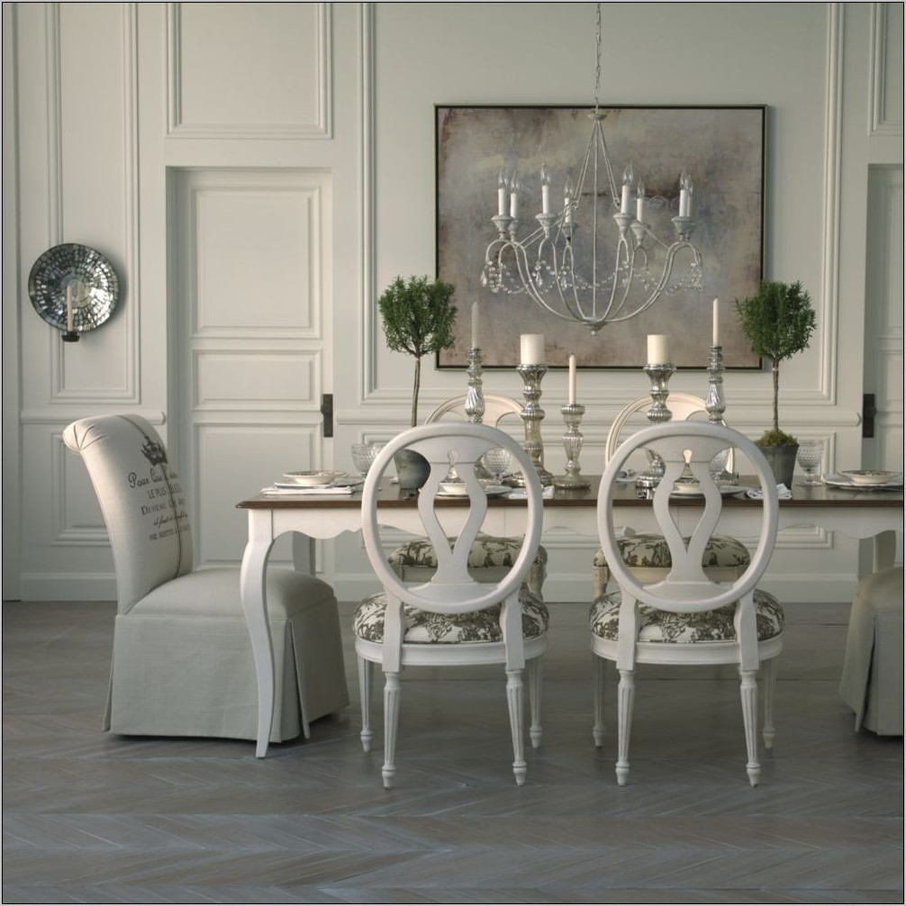 Ethan Allen Country French Dining Room