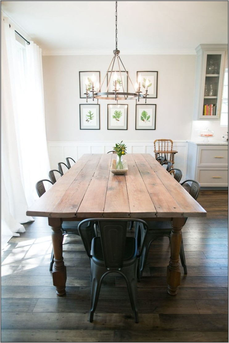 Farmhouse Formal Dining Room